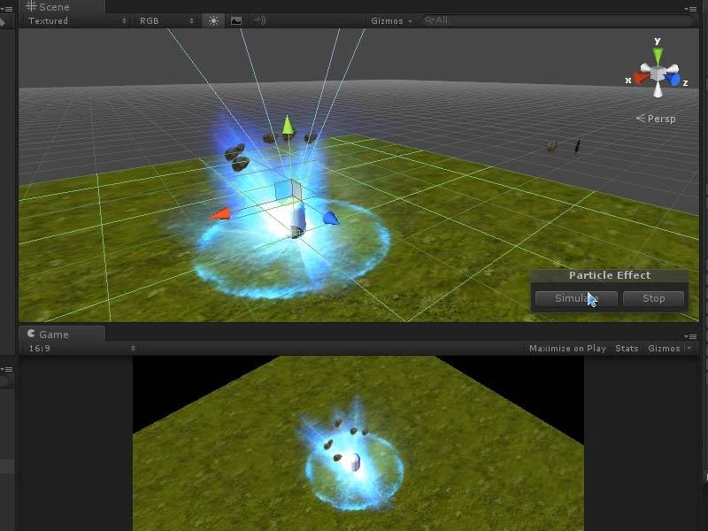 全案例的流程特效,讲解unity3d的shuriken技巧v案例视频的教学和流程.天正绘制教程粒子楼梯图片