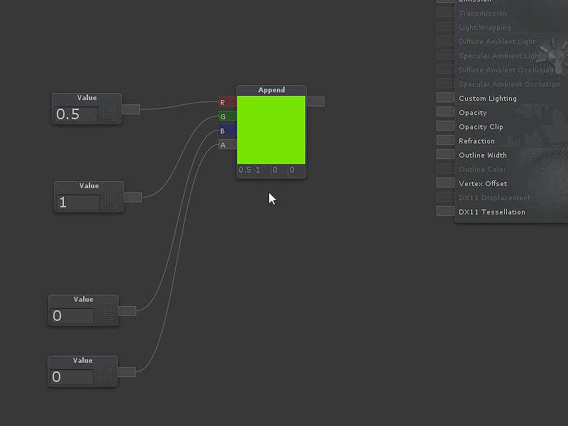 unity 3d可视化节点材质shader forge实用教程 初级篇