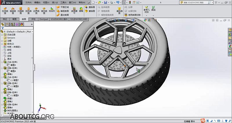 课程 solidworks 入门 工业设计 solidworks2015高级曲面实例建模教程